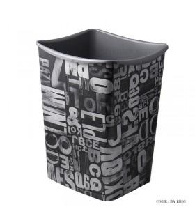 سطل زباله بزرگ طرح حروف انگلیسی