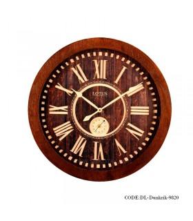 ساعت دیواری مدل موتور ثانیه ای طرح Dunkrik