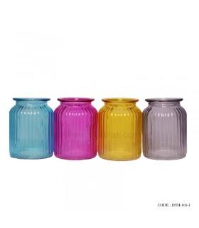 مدل گلدان رومیزی شیشه ای سری 1-105