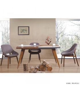 سرویس میز و صندلی ناهار خوری راحت کوچک
