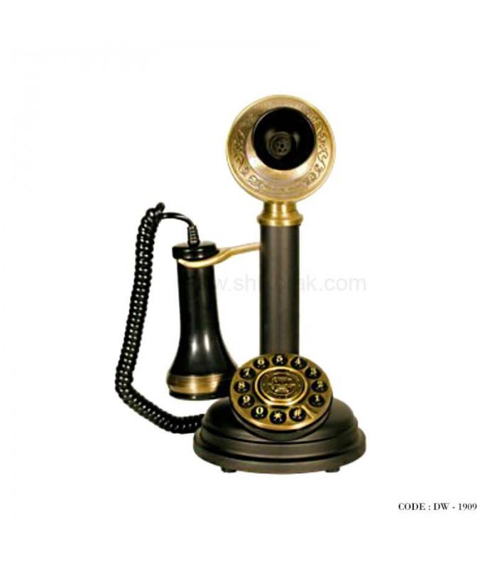 تلفن کلاسیک رومیزی چوبی سری 1909
