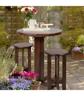 میز ناهار خوری گرد پایه بلند