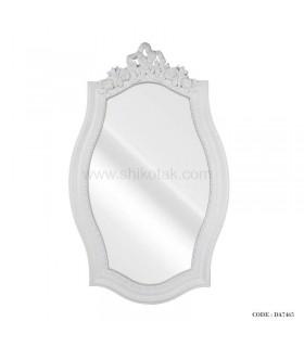 آینه دیواری چوبی تاج دار