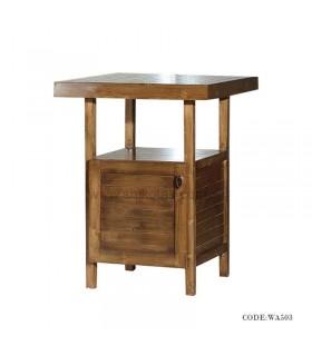 میز ناهار خوری چوبی کمد دار سری 503