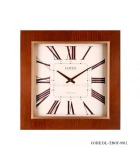 ساعت دیواری مربعی مدل Troy