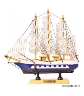 کشتی تزیینی مدل 7D
