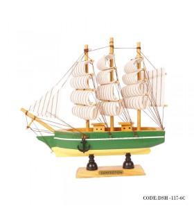 کشتی دکوری چوبی مدل 6C