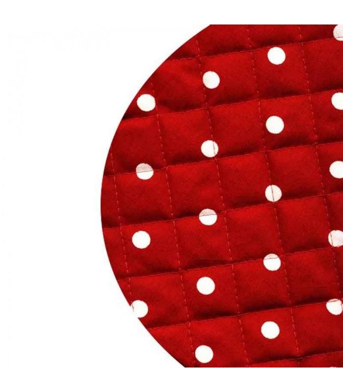 جدیدترین سرویس پارچه ای آشپزخانه خالدار قرمز