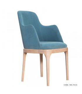 صندلی دسته دار پارچه ای مدل 235