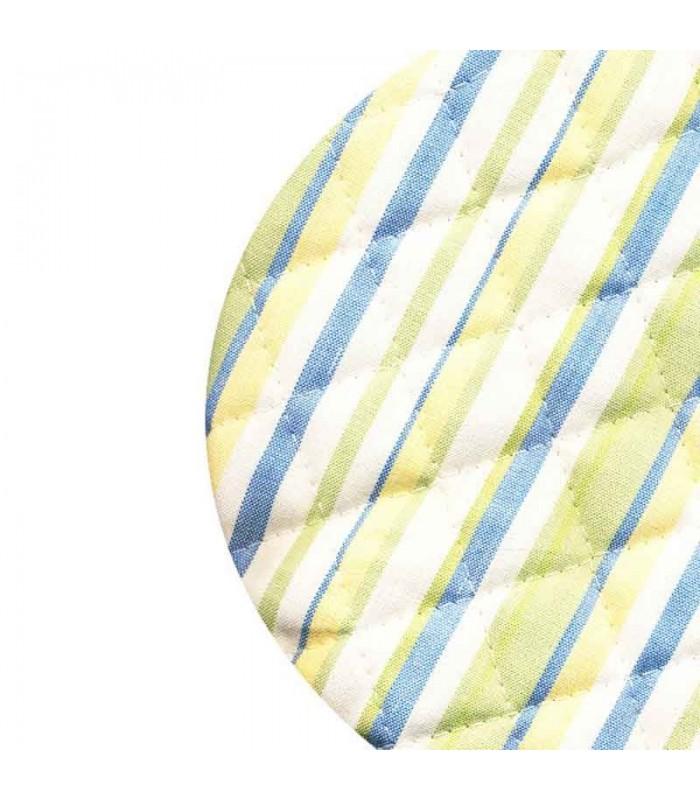 الگوی سرویس پارچه ای آشپزخانه طرح اسپرید آبی