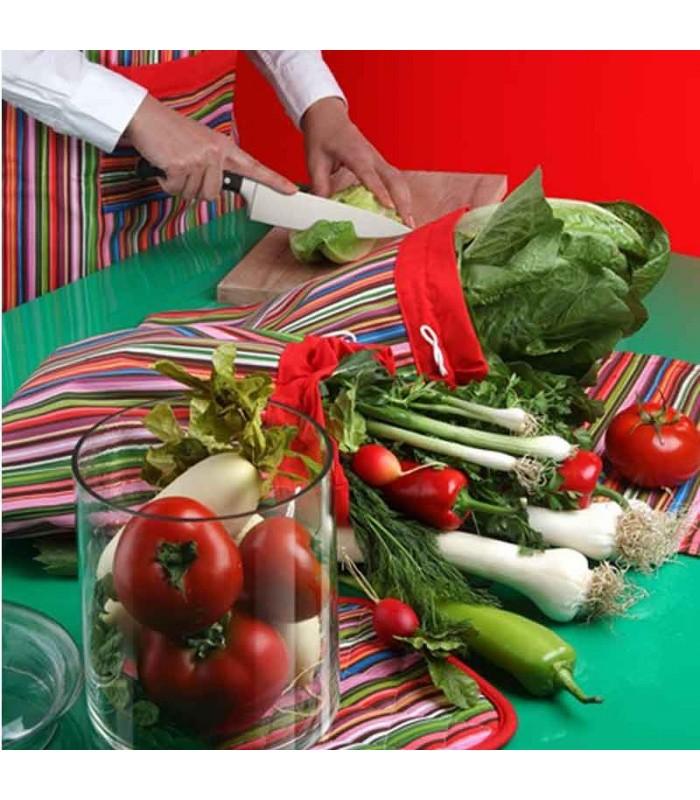 سرویس آشپزخانه 8 تکه Rezin Taj طرح راه راه الوان