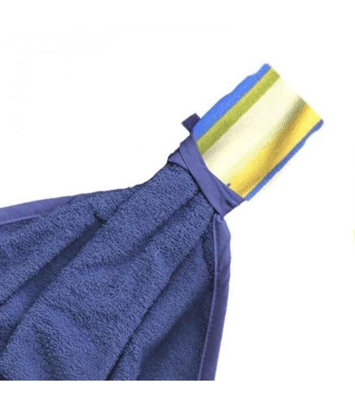 انواع سرویس پارچه ای آشپزخانه طرح اسپرید آبی