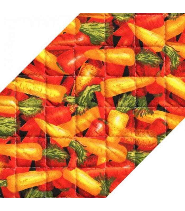 زیر بشقابی دو تکه Rezin Taj طرح هویج