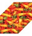 زیر بشقابی پارچه ای طرح هویج