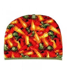 رو قوری پارچه ای طرح هویج