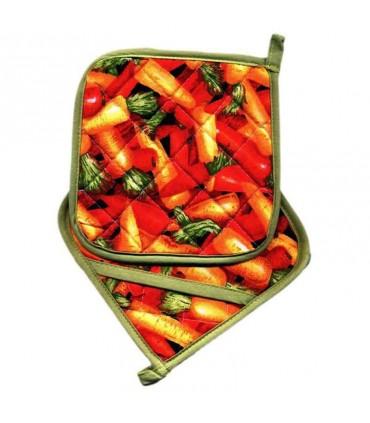 دستگیره قابلمه Rezin Taj طرح هویج