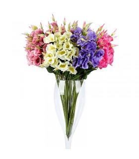 گل مصنوعی لیسیانتوس