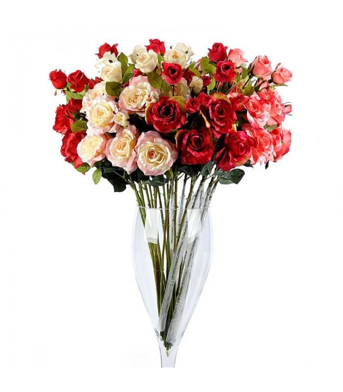 گل مصنوعی رز انگلیسی