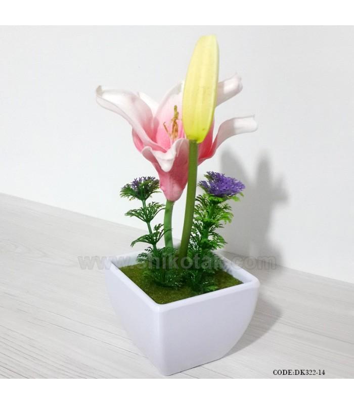 گلدان لیلیوم مصنوعی