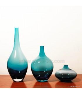 گلدان های مدرن سالونگ آبی