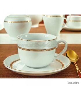 سرویس چای خوری شیک 6 نفره زرین طرح هدیه