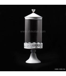 کندی باکس در الماسی طرح پایه باریک سفید