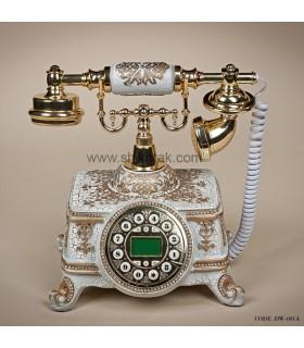 تلفن کلاسیک طرح آلبرت سفید
