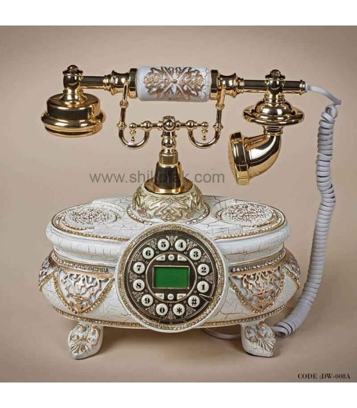 تلفن سلطنتی سفید طرح نیکلا
