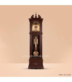 ساعت ایستاده چوبی سری 216 کرون فندقی