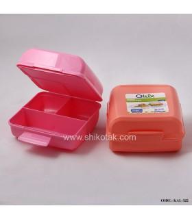 ظرف غذا پلاستیکی سری322