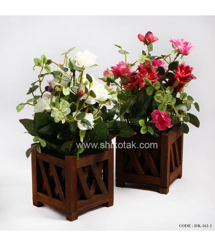 گلدان گل مصنوعی مدل حصار