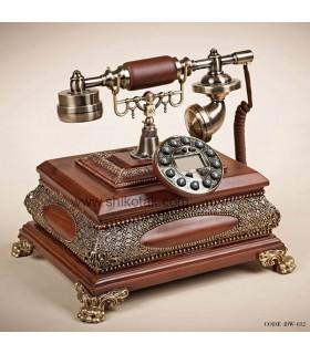 تلفن چوبی طرح کلاسیک سری 012