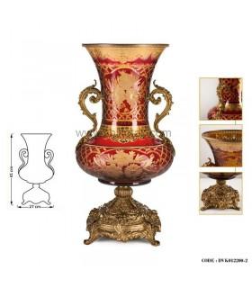 گلدان سلطنتی پایه برنز سری002