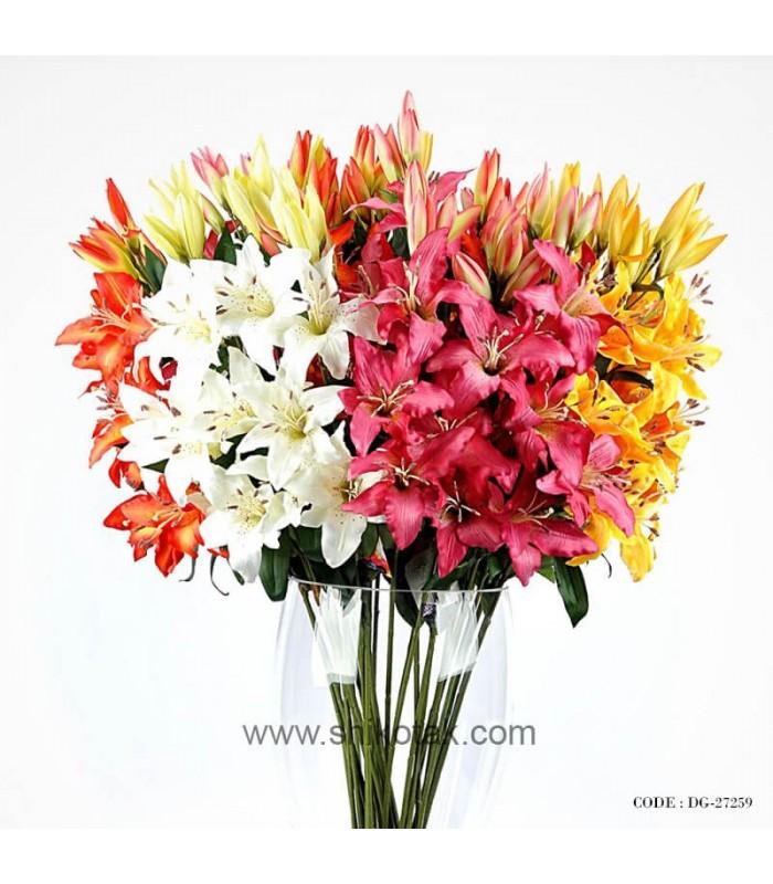 شیک ترین گل مصنوعی لیلیوم