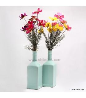 گلدان طرح بطری آبی