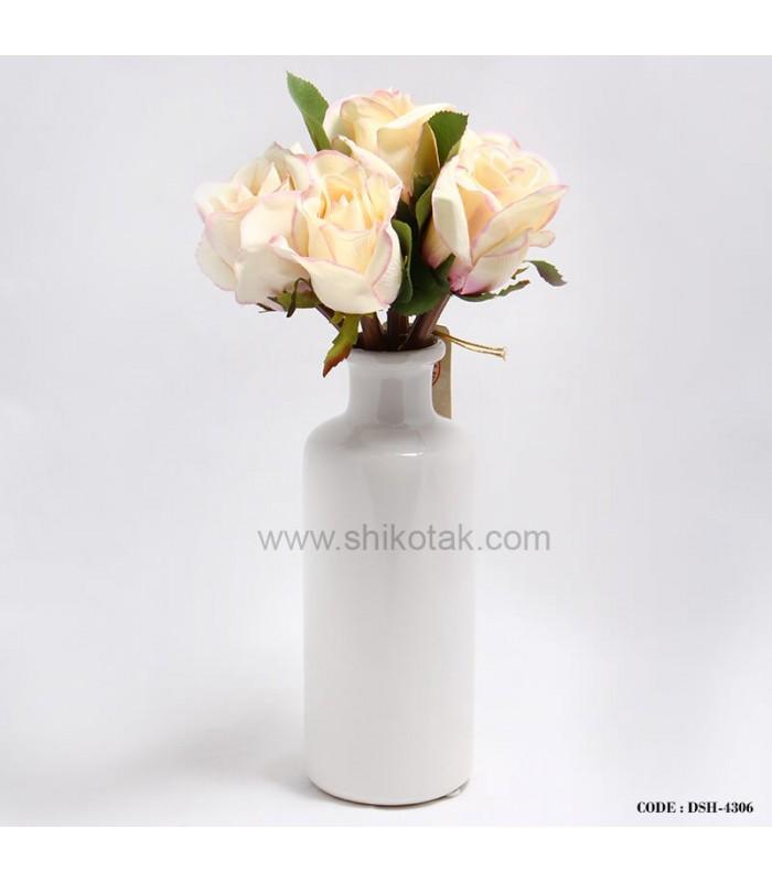 مدل جدید گلدان سفید