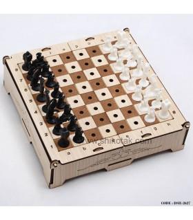 شطرنج چوبی تاشو