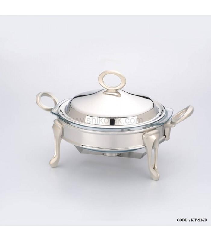 سوپ خوری استیل مدل حلقه ای سایز کوچک