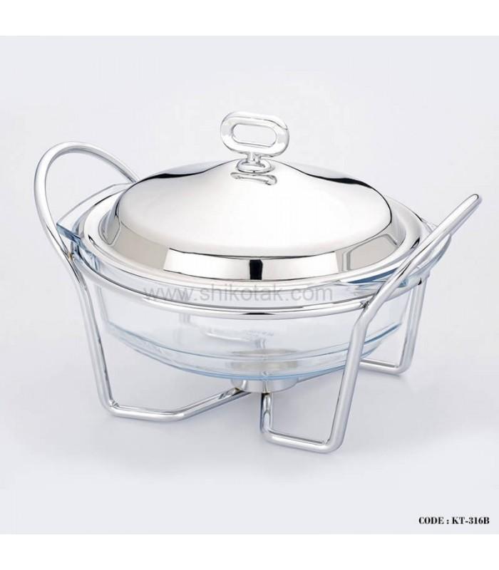 ظرف سوپ خوری پایه کوتاه 2 لیتری