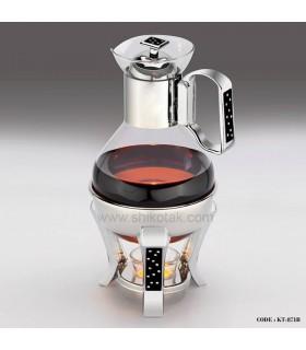 قهوه جوش پایه دار دو لیتری طرح دایموند