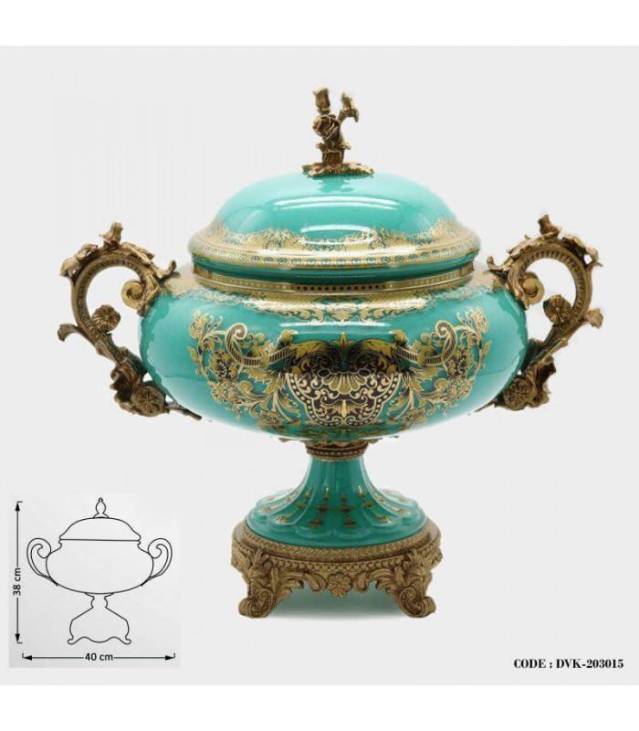 ظرف شکلات خوری تزئینی سلطنتی سری 015