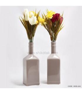 مدل گلدان طرح بطری طوسی