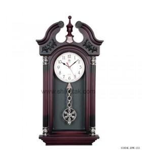 ساعت دیواری لوکس پاندول دار سری 211