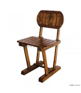 صندلی غذاخوری چوبی سری 107
