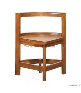 صندلی کم جا چوبی سری 112