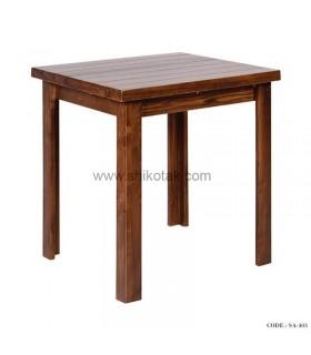 میز ناهارخوری چوبی مستطیل سری 403