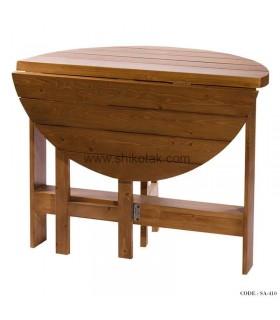 میز ناهارخوری تاشو چوبی سری 410