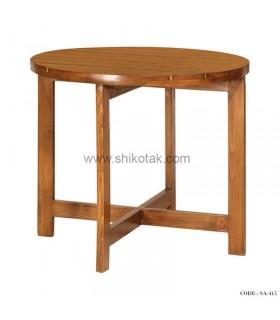 میز غذاخوری گرد چوبی سری 415
