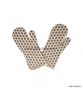 دستکش مخصوص فر طرح کندو