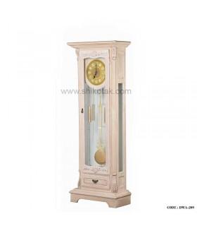 ساعت کنار سالنی پاندول دار چوبی سری 209